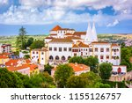 sintra  portugal at pena... | Shutterstock . vector #1155126757