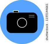photo camera flat icon | Shutterstock .eps vector #1155144661