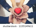 The Rubber Red Heart On Hands...