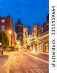york minster cathedral sunset... | Shutterstock . vector #1155159664