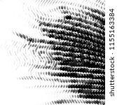 grunge halftone black and white ...   Shutterstock .eps vector #1155163384