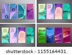 design elements presentation... | Shutterstock .eps vector #1155164431