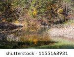 goshiki numa five colour pond... | Shutterstock . vector #1155168931