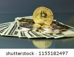 coins of different crypto...   Shutterstock . vector #1155182497