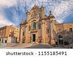 matera  basilicata  italy  the... | Shutterstock . vector #1155185491