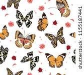 Garden Butterflies Flying In...