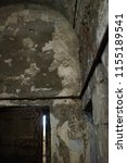 Stock photo creepy jail ceiling 1155189541
