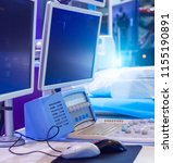 medical equipment for the... | Shutterstock . vector #1155190891