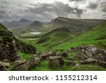 walking tour on the isle of...   Shutterstock . vector #1155212314
