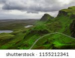 breathtaking panorama view over ...   Shutterstock . vector #1155212341
