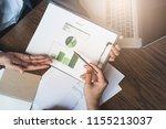 business man group ban storm   Shutterstock . vector #1155213037