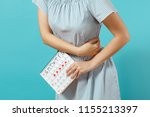 cropped shot sickness woman in... | Shutterstock . vector #1155213397