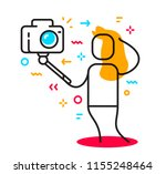 vector illustration of a... | Shutterstock .eps vector #1155248464