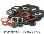 various sealing rings | Shutterstock . vector #1155274711