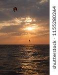 spectacular stunts  flying a... | Shutterstock . vector #1155280264