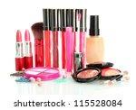 beautiful decorative cosmetics  ... | Shutterstock . vector #115528084