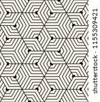 vector seamless pattern. modern ... | Shutterstock .eps vector #1155309421