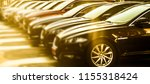 luxury cars for sale stock lot... | Shutterstock . vector #1155318424