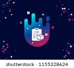 parcel checklist simple icon.... | Shutterstock .eps vector #1155328624