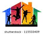 own home | Shutterstock . vector #115533409