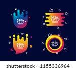 25  discount. sale offer price... | Shutterstock .eps vector #1155336964