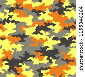 camouflage pattern background... | Shutterstock .eps vector #1155346264