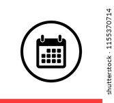 calendar vector icon  date...