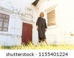 young beautiful model woman in... | Shutterstock . vector #1155401224