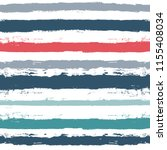 paint stripe seamless pattern.... | Shutterstock .eps vector #1155408034