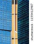 skyscrapers  office buildings... | Shutterstock . vector #1155412987