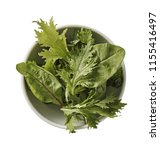 green grass on plate. ...   Shutterstock . vector #1155416497