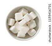 sugar in bowl.  preparing...   Shutterstock . vector #1155416731