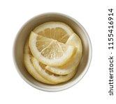 lemon in bowl.  preparing...   Shutterstock . vector #1155416914
