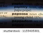 Papoose Word In A Dictionary....