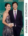 los angeles   aug 7   ken jeong ... | Shutterstock . vector #1155435904