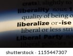 Small photo of liberalize word in a dictionary. liberalize concept.