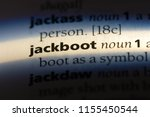 Jackboot Word In A Dictionary....