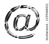 black   white metallic chrome... | Shutterstock . vector #1155468421
