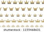king crown logo   Shutterstock .eps vector #1155468631