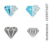 diamond logo inspiration | Shutterstock .eps vector #1155471427