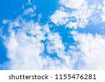 blurred sky blue or azure sky... | Shutterstock . vector #1155476281