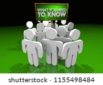 what you need to know important ... | Shutterstock . vector #1155498484