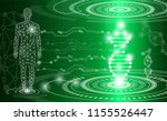 abstract background technology... | Shutterstock .eps vector #1155526447