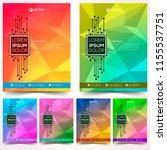 modern design template... | Shutterstock .eps vector #1155537751
