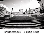 Famous Spanish Steps Looking...