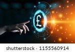 pound currency business banking ... | Shutterstock . vector #1155560914
