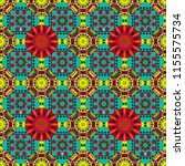 decorative colorful seamless... | Shutterstock .eps vector #1155575734