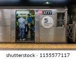 new york  usa   may 11  2018 ...   Shutterstock . vector #1155577117