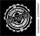 bird watcher written on a... | Shutterstock .eps vector #1155590467