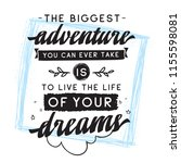 inspirational quote  motivation.... | Shutterstock .eps vector #1155598081